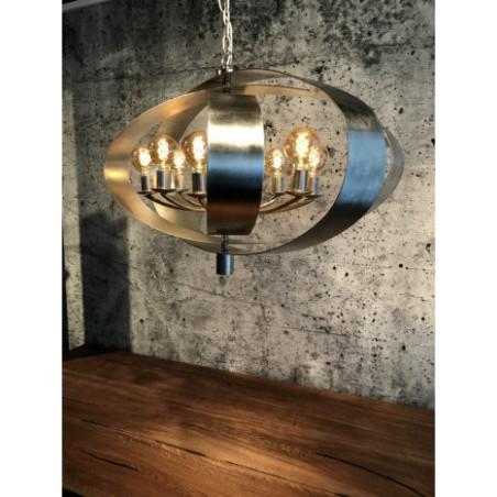 Hanglampen - LB019/8 Malibu Bladzilver - L&B