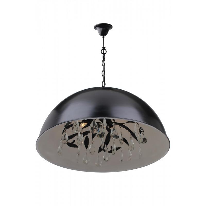 Hanglampen - LB4850/4 Milano - L&B zwart wit