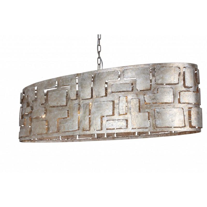 Hanglampen - LB07/8 Pablo Ambachtelijk zilver - L&B