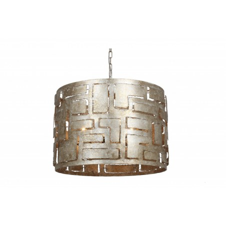 Hanglampen - LB08/6 Pablo ambachtelijk zilver - L&B