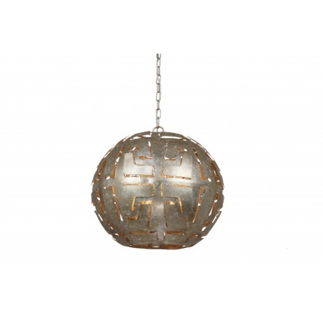 Hanglampen - LB010/3 Pablo Ambachtelijk zilver - L&B