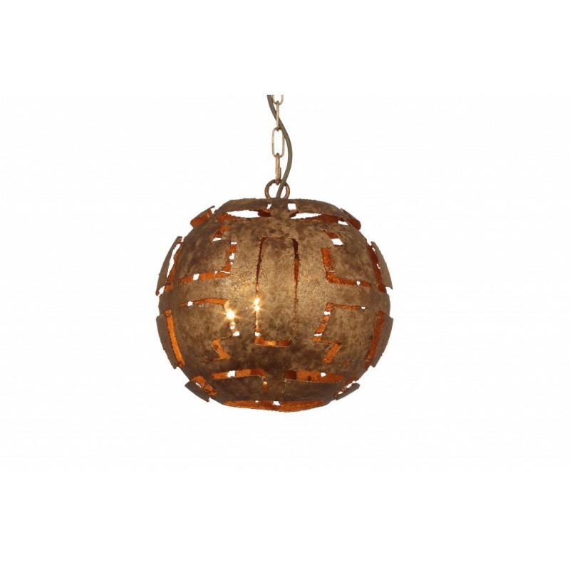 Hanglampen - LB010/3 Pablo Ambachtelijk brons - L&B