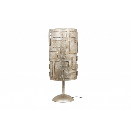 Tafellampen - LB012/3TL Pablo Ambachtelijk Zilver - L&B