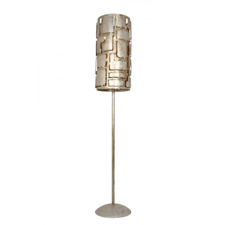 Vloerlampen - LB013/6VL Pablo Ambachtelijk Zilver - L&B