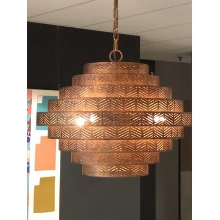 Hanglampen - LB031/4 Vegas Ambachtelijk Brons - L&B