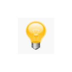 Lichtbron - LED Filament - E14 - 2W - Dimbaar