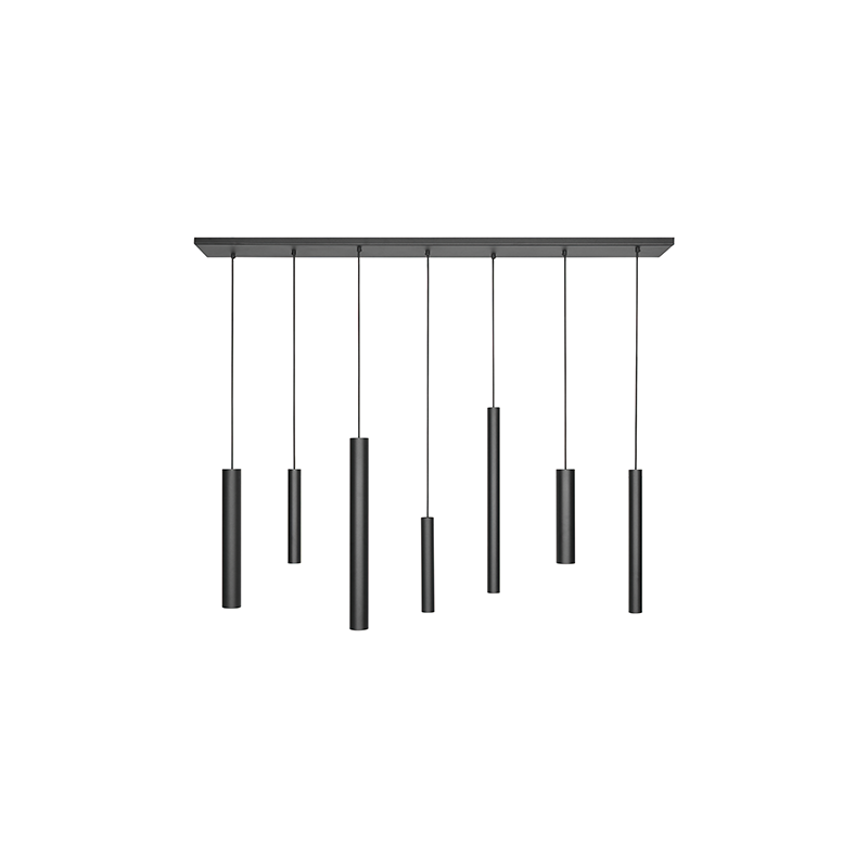 Hanglampen - 3500 Mello Zwart - Ztahl