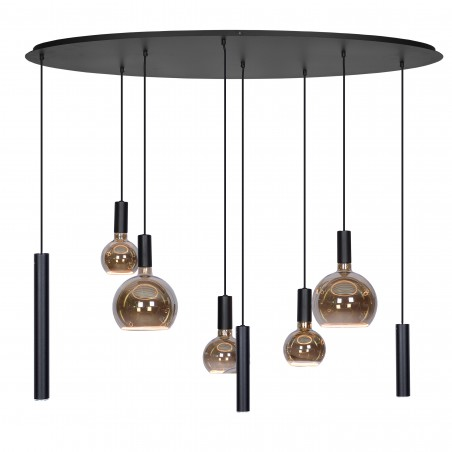 Hanglampen - 4310 Riva Zwart - Ztahl