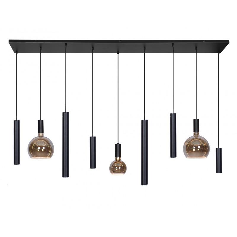 Hanglampen - 4320 Riva zwart - Ztahl