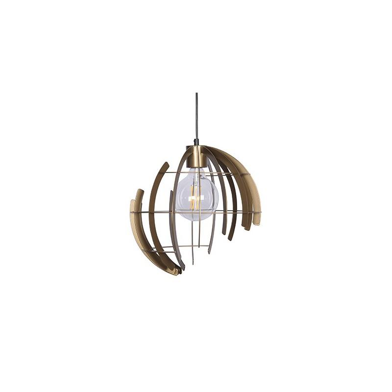 Hanglampen - 2402 Terra Oud Messing - Ztahl