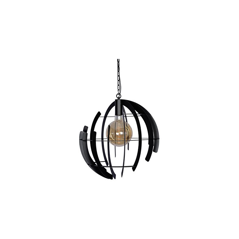 Hanglampen - 2400 Terra Zwart - Ztahl