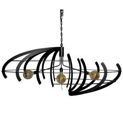Hanglampen - 2408 Terra Zwart - Ztahl