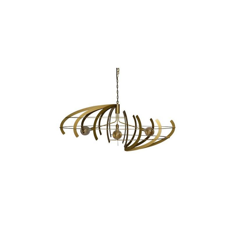 Hanglampen - 2408 Terra Messing - Ztahl