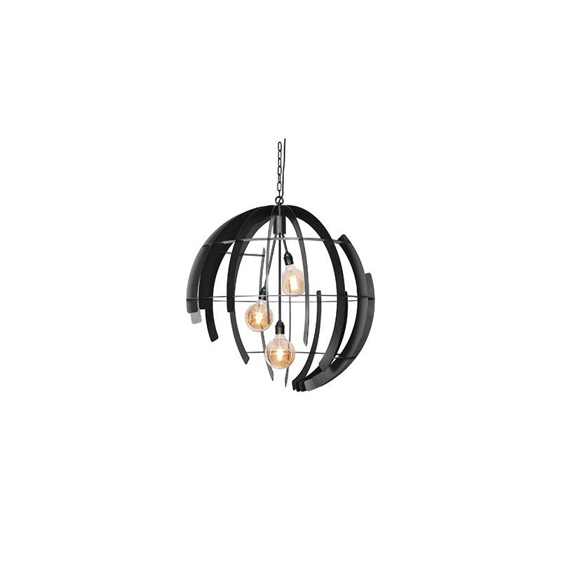 Hanglampen - 2407 Terra Zwart - Ztahl