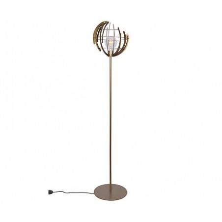 Vloerlampen - 2403 Terra Oud Messing - Ztahl