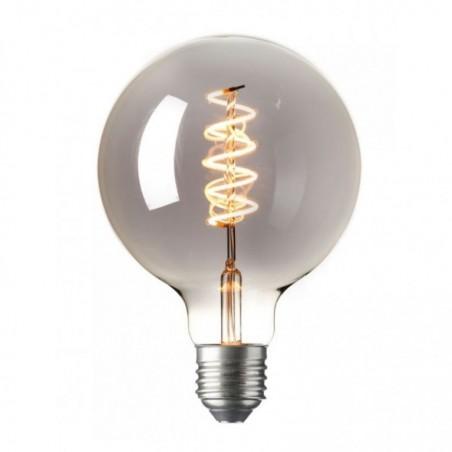 Lichtbron - LED Globe Bol Titanium - E27 - 4W - Dimbaar