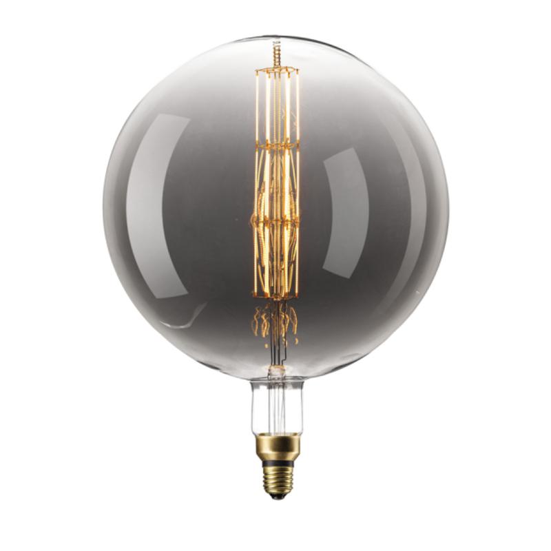 Lichtbron - LED Manhattan Titanium - E27 - 8W - Dimbaar