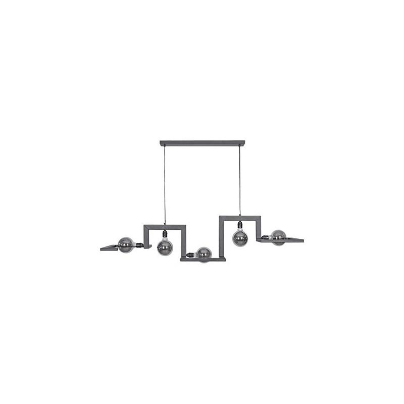 Hanglampen - 9500 Tortona - Ztahl - RAL 9005 structuur (zwart)