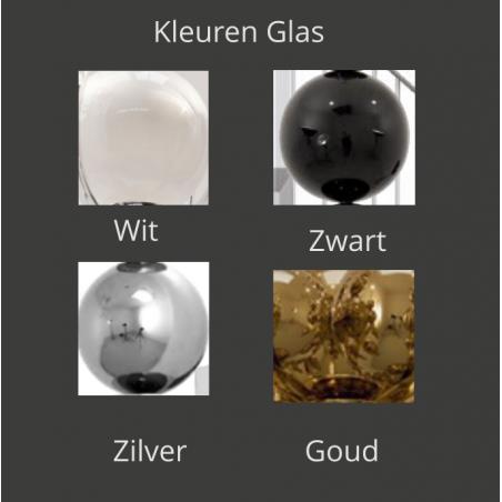 Kleuren glas Tafellamp - Tears from moon T1 - Ilfari