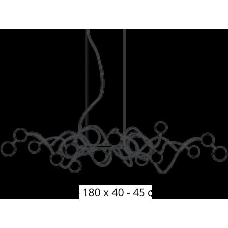 Maten - Hanglampen - Big Bubbles Kite - Harco Loor