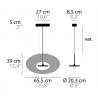 Maten - Hanglamp - Eye in the sky H1 - Ilfari