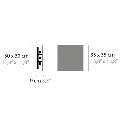 Maten - Plafondlamp - Nightlife C4 - Ilfari