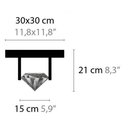 Maten - Plafondlamp - Elements of Love C1 XL - Ilfari