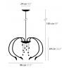 Maten - Hanglamp - Chill Out H8 - Ilfari
