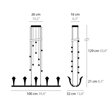 Maten - Hanglamp - Chill Out H10 - Ilfari