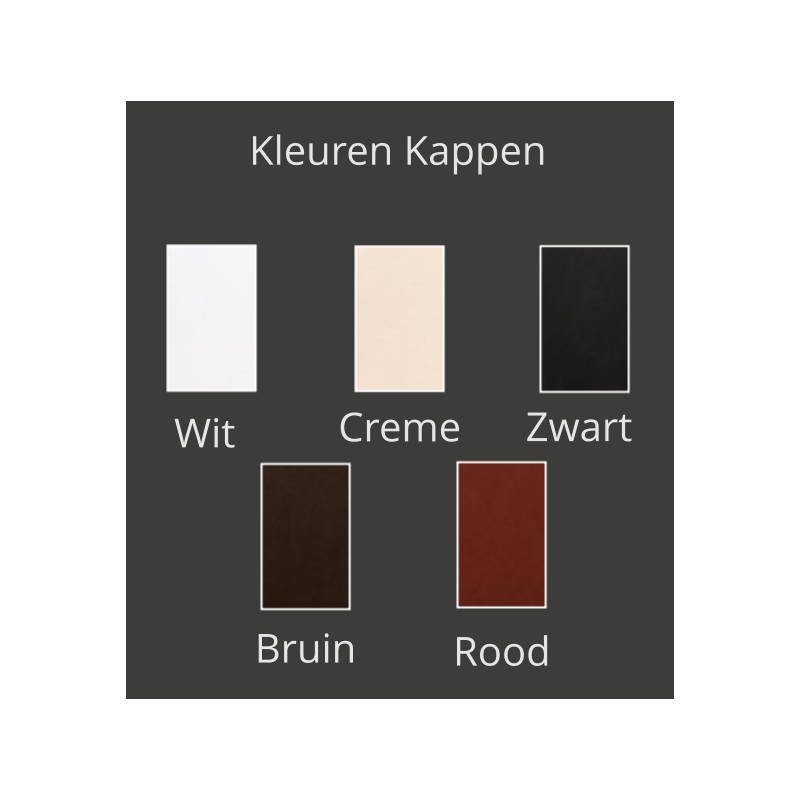 Kleuren kappen - Hanglamp - Swinging Ballet H12 - Ilfari
